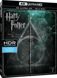 Cover Dvd Harry Potter e i doni della morte. Parte 2 (Blu-ray Ultra HD 4K) (Blu-ray)