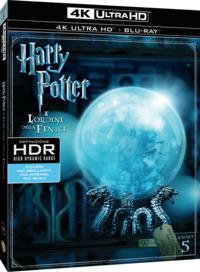 Cover Dvd Harry Potter e l'ordine della Fenice (Blu-ray Ultra HD 4K) (Blu-ray)