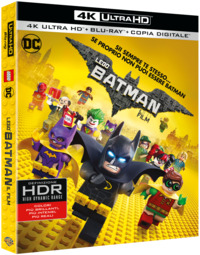 Cover Dvd Lego Batman. Il film (Blu-ray Ultra HD 4K) (Blu-ray)