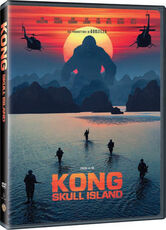 Film Kong. Skull Island (DVD) Jordan Vogt-Roberts