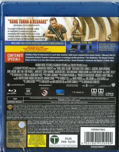 Kong. Skull Island (Blu-ray) di Jordan Vogt-Roberts - Blu-ray - 2