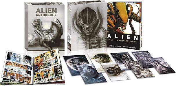 Alien Anthology. Edizione speciale (4 Blu-ray) di James Cameron,David Fincher,Jean-Pierre Jeunet,Ridley Scott - 2