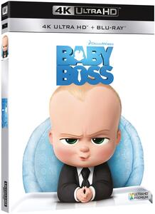 Baby Boss (Blu-ray + Blu-ray 4K Ultra HD) di Tom McGrath - Blu-ray + Blu-ray Ultra HD 4K