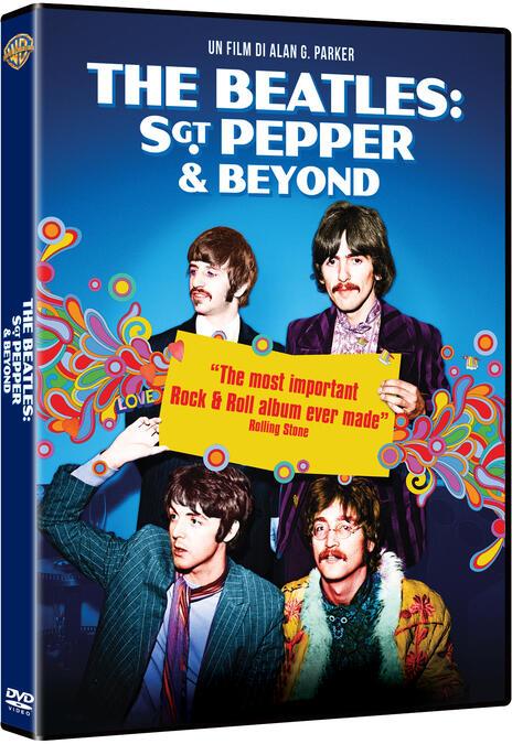 The Beatles. Sgt Pepper & Beyond (DVD) - DVD di Pete Best