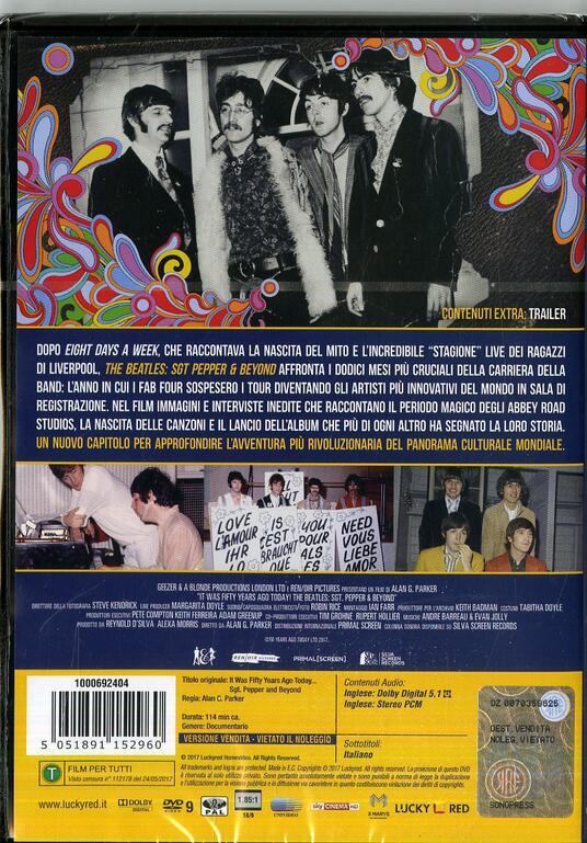 The Beatles. Sgt Pepper & Beyond (DVD) - DVD di Pete Best - 2