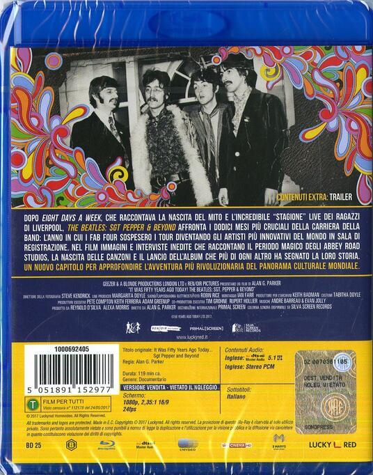 The Beatles. Sgt Pepper & Beyond (Blu-ray) - Blu-ray di Pete Best - 2