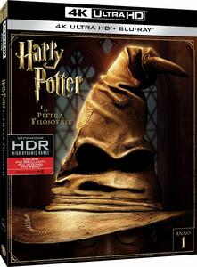 Harry Potter e la pietra filosofale (Blu-ray + Blu-ray 4K Ultra HD) di Chris Columbus