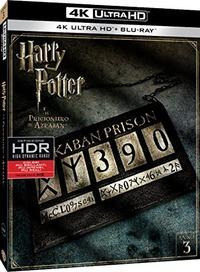 Cover Dvd Harry Potter e il prigioniero di Azkaban (Blu-ray Ultra HD 4K)