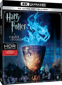 Cover Dvd Harry Potter e il calice di fuoco (Blu-ray Ultra HD 4K)
