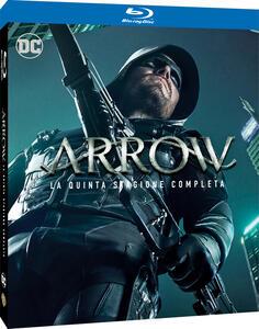 Film Arrow. Stagione 5. Serie TV ita (4 Blu-ray) John Behring Michael Schultz Guy Norman Bee