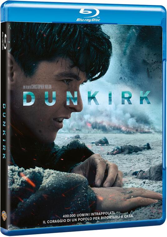 Dunkirk (Blu-ray) di Christopher Nolan - Blu-ray