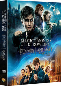 Wizarding World. Collezione 9 film. Harry Potter - Animali fantastici (DVD) di Chris Columbus,Alfonso Cuaron,Mike Newell,David Yates - DVD