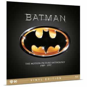 Batman Anthology 1989-1997. Vinyl Edition (4 Blu-ray) di Tim Burton,Joel Schumacher