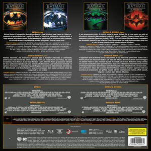 Batman Anthology 1989-1997. Vinyl Edition (4 Blu-ray) di Tim Burton,Joel Schumacher - 3