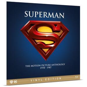 Film Superman Anthology. Vinyl Edition (4 Blu-ray) Richard Donner Sidney J. Furie Richard Lester