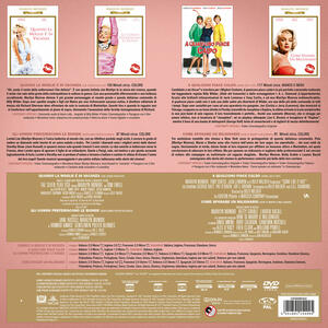 Marilyn Monroe. Vinyl Edition. Quando la moglie è in vacanza - Gli uomini preferiscono le bionde - A qualcuno piace caldo - Come sposare un milionario (4 DVD) di Howard Hawks,Jean Negulesco,Billy Wilder - 3