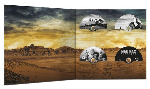Mad Max Anthology. Vinyl Edition (4 Blu-ray) di George Miller,George Ogilvie - 2