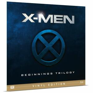 Film X-Men Beginning Trilogy. Vinyl Edition (3 Blu-ray) Bryan Singer Matthew Vaughn