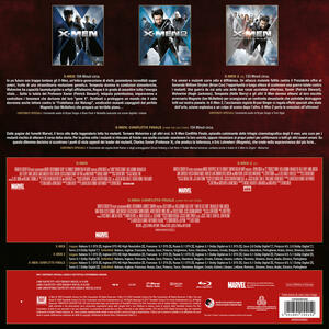 X-Men Conflitto finale Trilogy. Vinyl Edition (3 Blu-ray) di Brett Ratner,Bryan Singer - 3