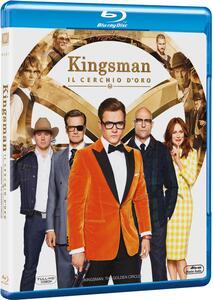 Kingsman. Il cerchio d'oro (Blu-ray) di Matthew Vaughn - Blu-ray