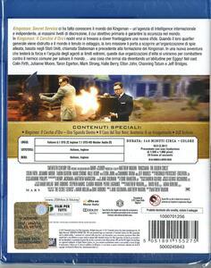 Kingsman. Il cerchio d'oro (Blu-ray) di Matthew Vaughn - Blu-ray - 2