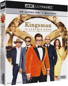 Kingsman. Il cerchio d'oro (Blu-ray + Blu-ray 4K Ultra HD) di Matthew Vaughn