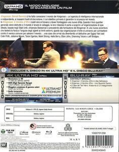 Kingsman. Il cerchio d'oro (Blu-ray + Blu-ray 4K Ultra HD) di Matthew Vaughn - 2