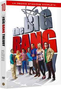 The Big Bang Theory. Stagione 10. Serie TV ita (3 DVD) - DVD