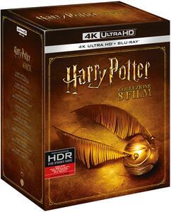 Film Harry Potter Collection 8 film (Blu-ray Ultra HD 4K) Chris Columbus Alfonso Cuaron Mike Newell David Yates