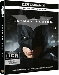 Cover Dvd Batman Begins (Blu-ray Ultra HD 4K)