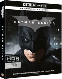 Cover Dvd Batman Begins (Blu-ray Ultra HD 4K)
