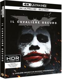 Cover Dvd Il cavaliere oscuro (Blu-ray Ultra HD 4K)