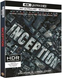 Cover Dvd Inception (Blu-ray Ultra HD 4K)