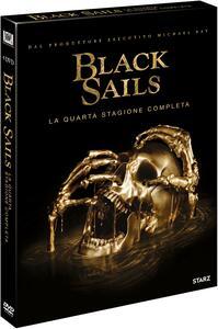 Film Black Sails . Stagione 4. Serie TV ita (4 DVD) Neil Marshall Sam Miller Marc Munden