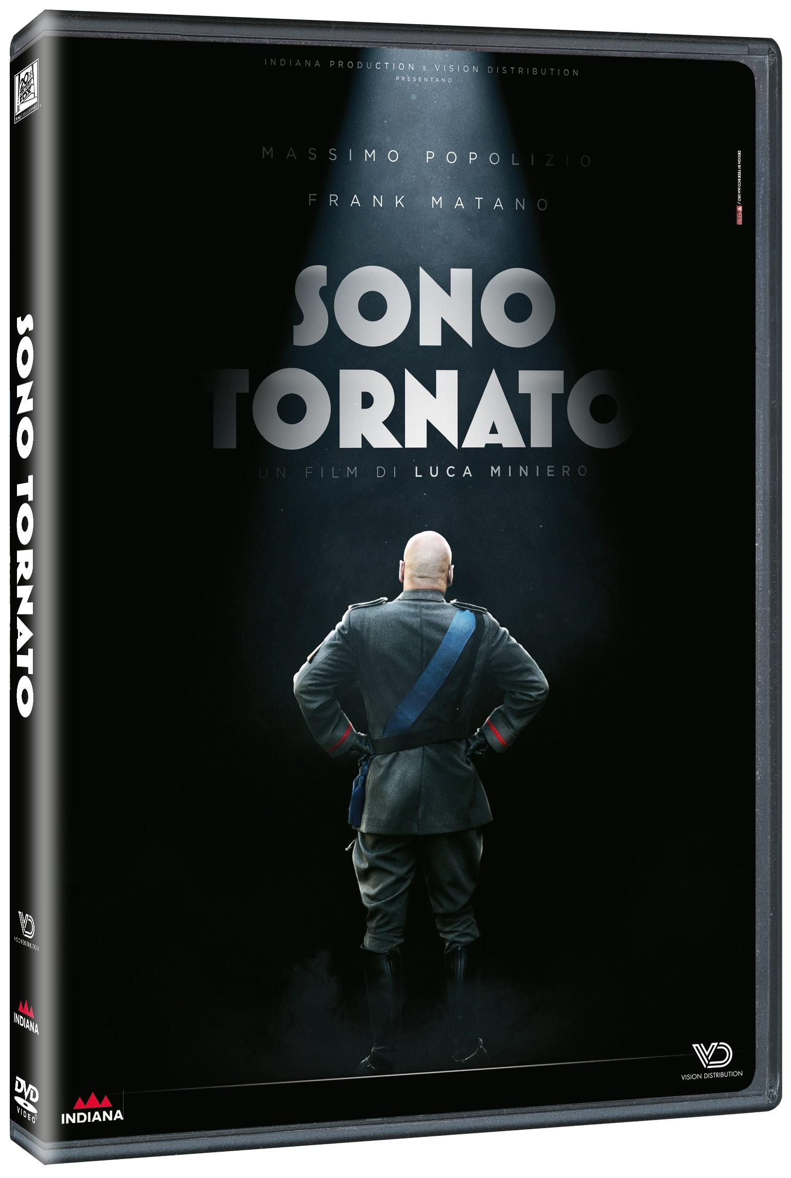 Cover Dvd DVD Sono tornato