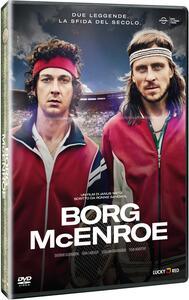 Borg - McEnroe (DVD) di Janus Metz Pedersen - DVD