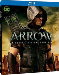 Film Arrow. Stagione 4. Serie TV ita (4 Blu-ray) John Behring Michael Schultz Guy Norman Bee
