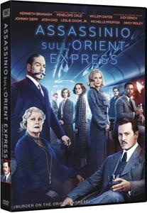 Assassinio sull'Orient Express (DVD) di Kenneth Branagh - DVD