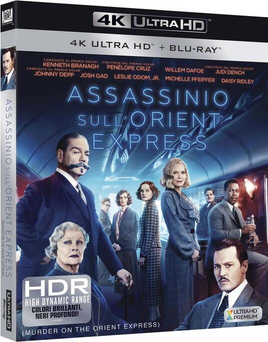 Assassinio sull'Orient Express (Blu-ray + Blu-ray 4K Ultra HD) di Kenneth Branagh - Blu-ray + Blu-ray Ultra HD 4K