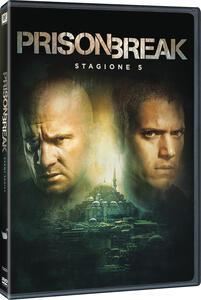 Prison Break. Stagione 5. Serie TV ita (3 DVD) - DVD