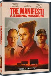Tre manifesti a Ebbing, Missouri (DVD) di Martin McDonagh - DVD