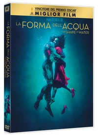 Cover Dvd La forma dell'acqua. The Shape of Water (DVD)