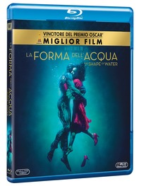 Cover Dvd La forma dell'acqua. The Shape of Water (Blu-ray)