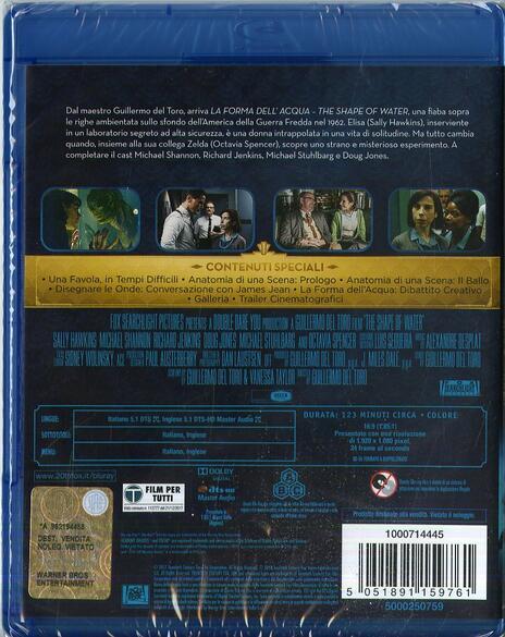 La forma dell'acqua. The Shape of Water (Blu-ray) di Guillermo Del Toro - Blu-ray - 3