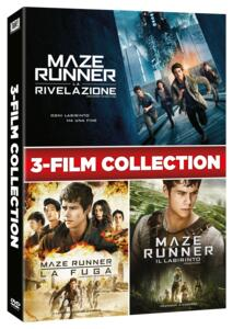 Cofanetto Maze Runner 1-2-3 (3 DVD) di Wes Ball