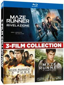 Cofanetto Maze Runner 1-2-3 (3 Blu-ray) di Wes Ball
