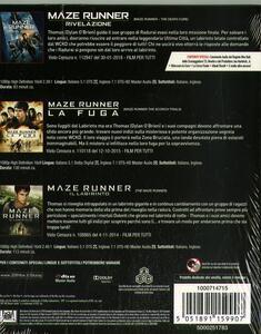 Cofanetto Maze Runner 1-2-3 (3 Blu-ray) di Wes Ball - 2