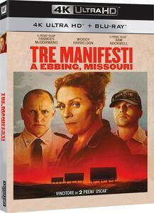Tre manifesti a Ebbing, Missouri (Blu-ray + Blu-ray 4K Ultra HD) di Martin McDonagh - Blu-ray + Blu-ray Ultra HD 4K