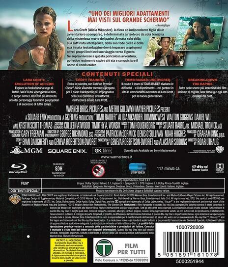 Tomb Raider (Blu-ray) di Roar Uthaug - Blu-ray - 7