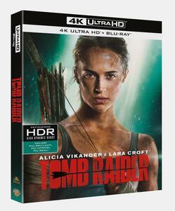 Tomb Raider (Blu-ray + Blu-ray 4K Ultra HD) di Roar Uthaug - Blu-ray + Blu-ray Ultra HD 4K